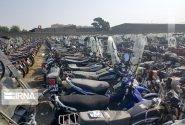 وجود ۳ هزار موتور سیکلت رسوبی در کاشان