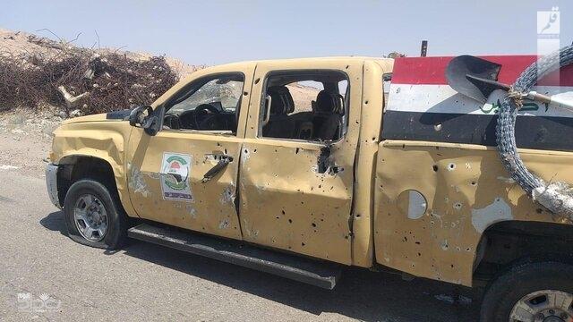 انفجار بمب در مسیر کاروان ائتلاف بینالمللی در الانبار