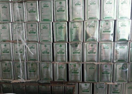 بیش از هشت تن روغن خوراکی احتکاری در کرمانشاه کشف شد