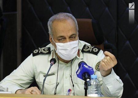 نیروی انتظامی در مقابله با کرونا الگو بود