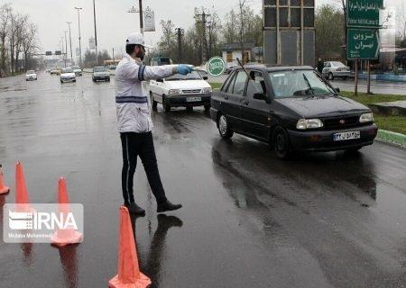 ۵۰۰ دستگاه خودروی غیربومی از ورودی مازندران در کندوان برگردانده شدند