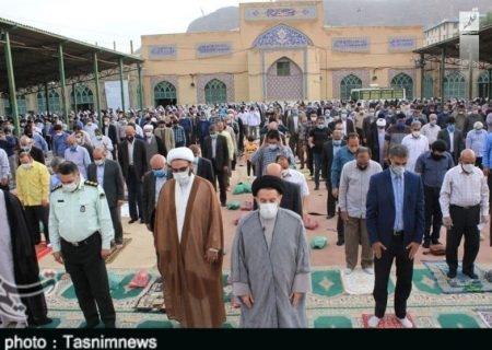 اقامه نماز عید سعید فطر در لرستان به روایت تصویر