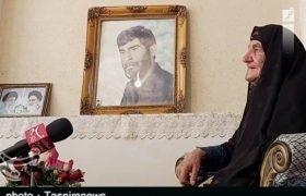 لرستان| روایت یک مادر شهید از ۳۵ سال چشم انتظاری
