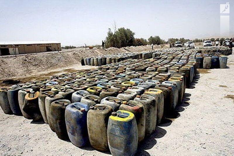 کشف ۱۰۰ هزار لیتر فرآوردههای نفتی قاچاق در ماهشهر