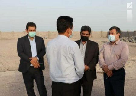استاندار هرمزگان دستور ختم پیمان پیمانکار آب شیرین کن حمیران را صادر کرد