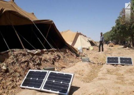 تحویل ۷۲ پنل خورشیدی به خانوارهای عشایری استان همدان