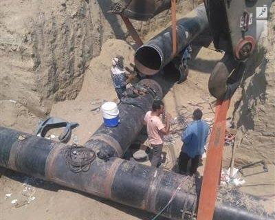اتصال خط ۳۰ اینچ نیروگاه تولید برق هنگام به شبکه انتقال گاز کشور انجام شد