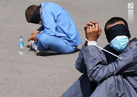 گلوله پلیس سوداگران مرگ را در مشهد زمینگیر کرد