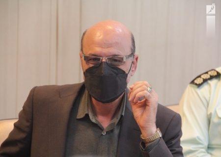 تامین امنیت انتخابات در شهر صدرا