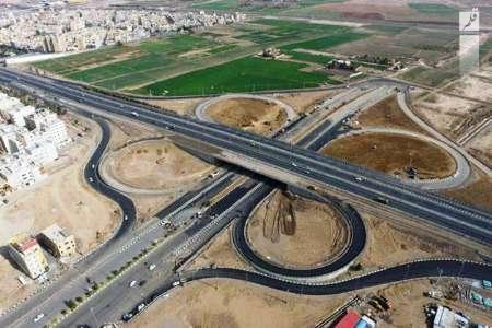 پُل اصلی تقاطع غیرهمسطح شهید همدانی افتتاح شد