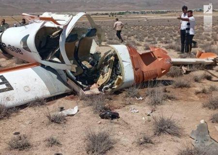 سقوط یک فروند هواپیمای آموزشی در خراسان شمالی ۲ کشته داد