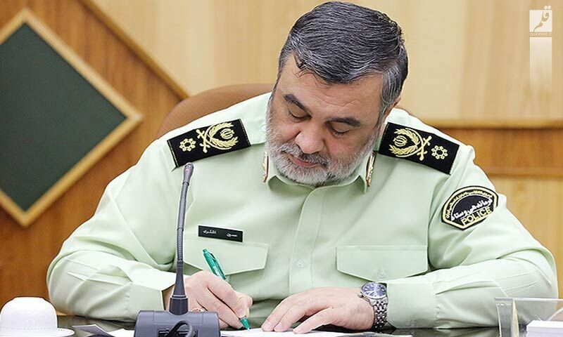 قدردانی فرمانده ناجا از کارکنان نیروی انتظامی در تامین امنیت انتخابات