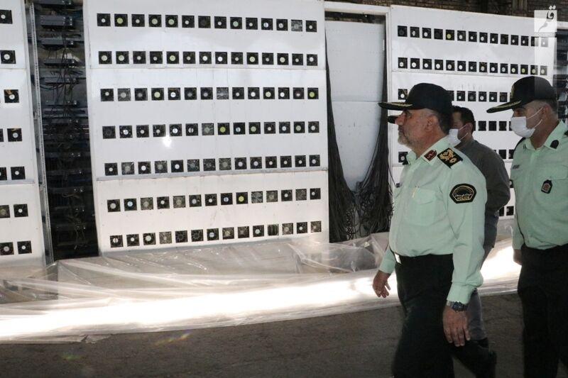 کشف بزرگترین مزرعه استخراج رمزارز کشور با ۷ هزار ماینر در پایتخت