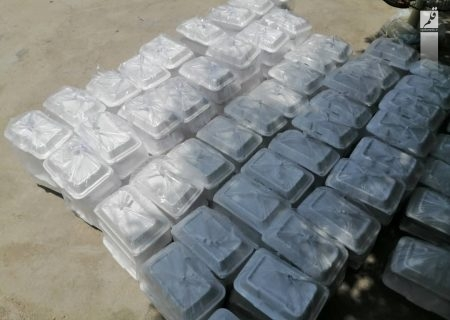 طبخ و توزیع ۲۰۰ پرس غذای گرم در فاریاب