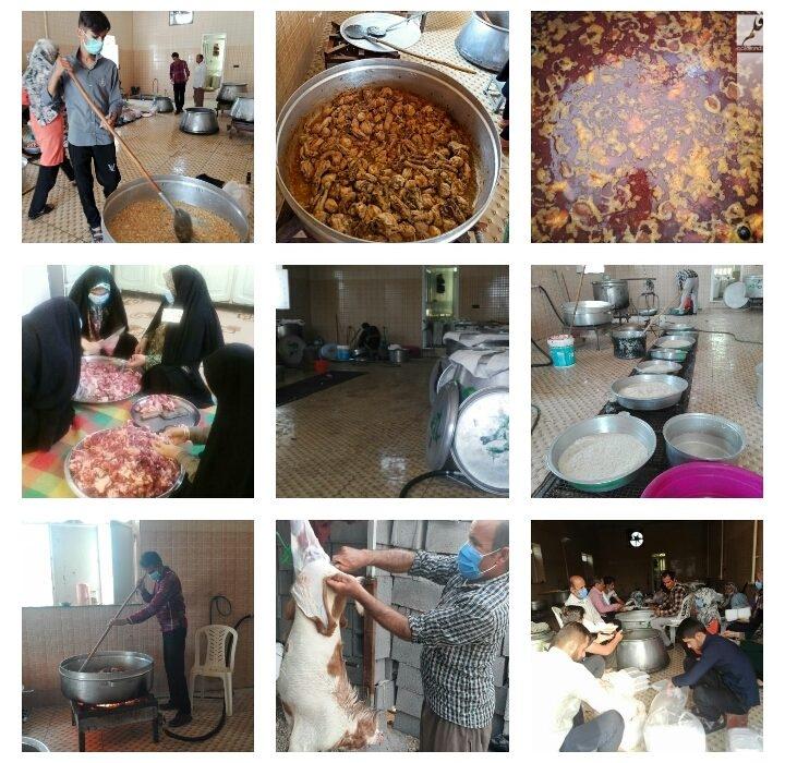 تهیه و توزیع ۲ هزار پرس غذا به مناسبت عید غدیر خم