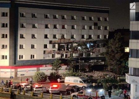 نشت گاز منجر به انفجار واحد مسکونی در غرب تهران شد