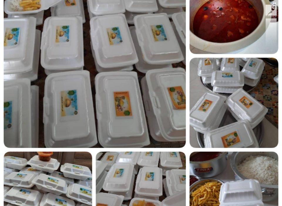 توزیع ۷۰پرس غذای گرم بین نیازمندان شهر وراوی