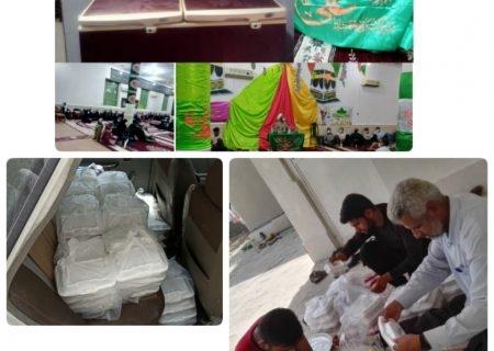 پخت ۶۱۰ پُرس غذای گرم در شهرستان مُهر و توزیع بین نیازمندان