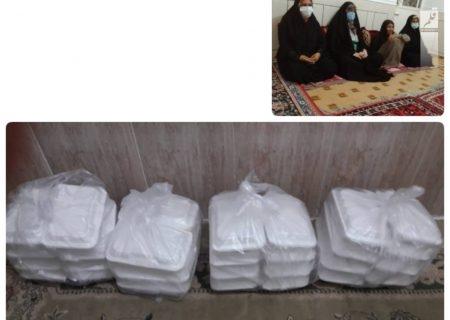توزیع ۳۰ پرس غذای گرم / دیدار با خانواده سادات در شول