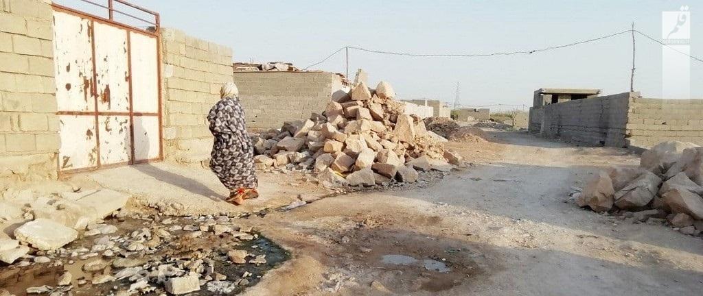 روزی یکساعت آب برای شهرک طالقانی ماهشهر، نزدیک صنایع پتروشیمی خوزستان!