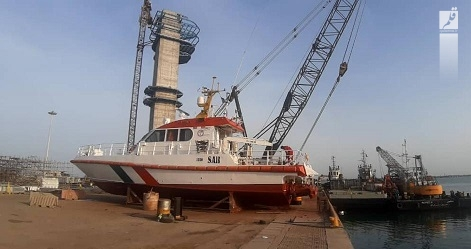الحاق ناجی ۱۱ پس از تعمیر اساسی و زیر آبی  به ناوگان جستجو  و نجات دریایی هرمزگان