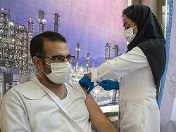 آغاز واکسیناسیون کارکنان شرکت نفت ستاره خلیجفارس