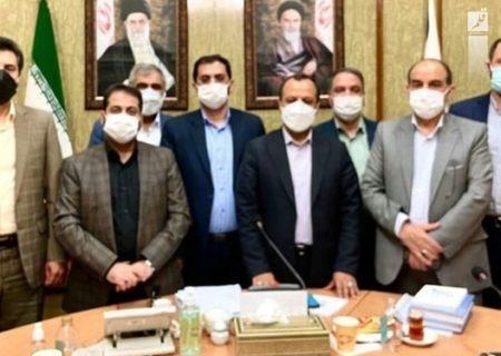 وزیر امور اقتصادی و دارایی با شهردار مشهد دیدار کرد