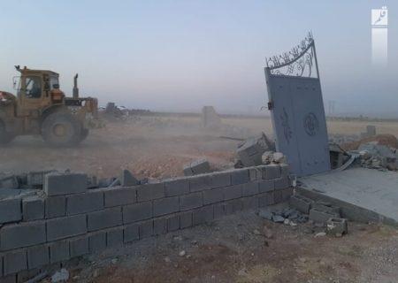 رفع تصرف از ۳۰ هزارمترمربع اراضی کشاورزی در شیراز