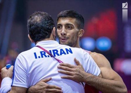 اتحادیه جهانی کشتی نوشت: محمدرضا گرایی منجی بزرگ کشتی ایران در المپیک توکیو