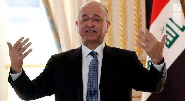 برهم صالح: عادی سازی روابط با اسرائیل هرگز مطرح نبوده/مرحله آتی در عراق سرنوشت ساز است