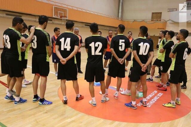 داوران بازی فوتسال ایران با صربستان مشخص شدند