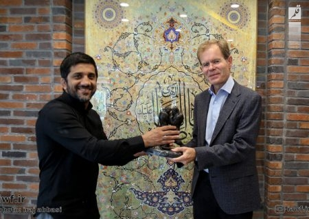 دیدار سفیر نروژ با دبیر پیش از مسابقات جهانی