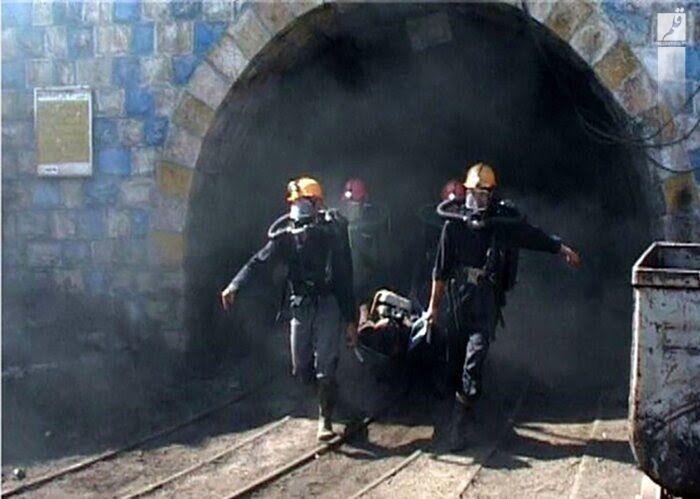 ریزش معدن در هجدک کرمان جان یک کارگر را گرفت