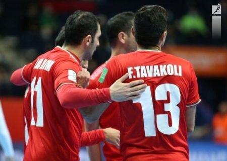 صعود ایران به یکچهارم نهایی جام جهانی فوتسال با برد میلیمتری مقابل ازبکستان