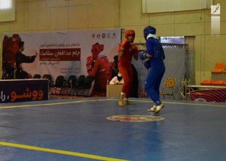 نتایج روز دوم لیگ برتر ووشوی بانوان