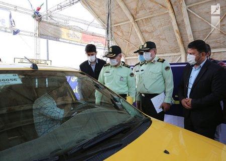 واکسیناسیون روزانه ۱۸۰۰ شهروند خودروسوار در بوستان ولایت تهران