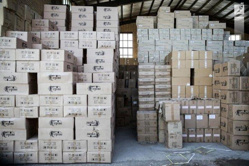 کشف ۱۱ هزار کارتن مواد خوراکی احتکار شده در بیرجند
