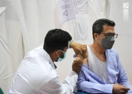 راهاندازی مرکز واکسیناسیون در دانشگاه شهید چمران اهواز